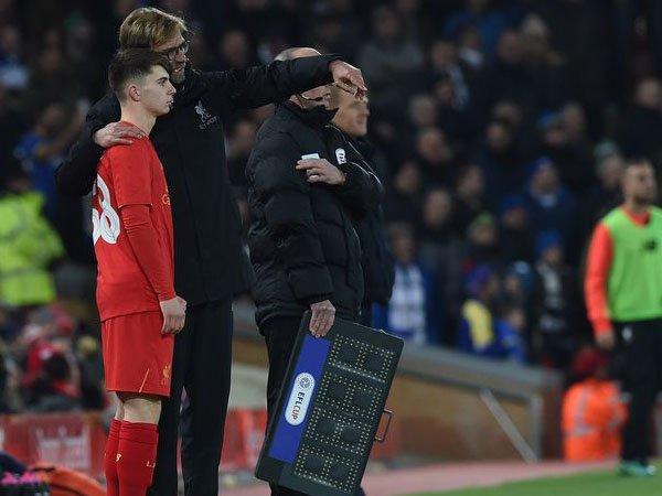 Berita Liga Inggris: Ben Woodburn Dipanggil Timnas Wales, Jurgen Klopp Terkejut