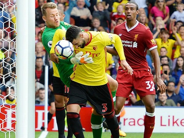 Review Liga Inggris: Watford 3-3 Liverpool, Tandukkan Britos Batalkan Tiga Poin The Reds