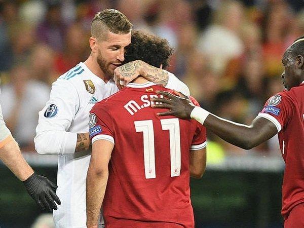 Sergio Ramos Akhirnya Buka Suara Soal Insiden Mohamed Salah dan Loris Karius