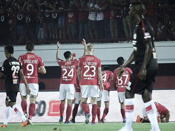 Bali United 2-0 Persipura, Serdadu Tridatu Putus Catatan Buruk
