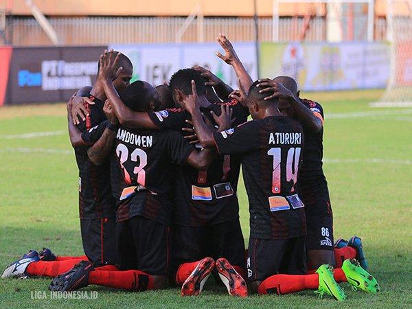 Bali United vs Persipura Jayapura, Mutiara Hitam Datang Untuk Menang