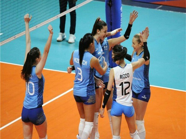 Kandaskan Korea, Argentina Raih Kemenangan Perdana di Volleyball Nations League 2018