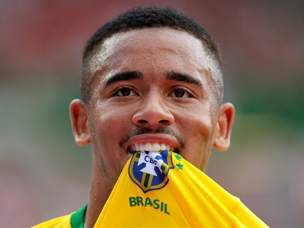 Gabriel Jesus Tak Mau Terlalu Fokus Kejar Gelar Topskor Piala Dunia 2018