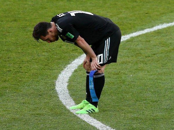 Sebelas Tendangan Tak Ada Gol, Messi Kesulitan untuk Samai Ronaldo