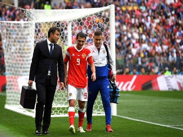 Cedera Hamstring, Alan Dzagoev Absen Hadapi Mesir dan Uruguay