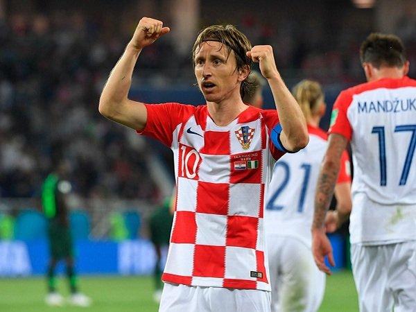 Puncaki Grup D, Modric Nantikan Laga Kontra Argentina