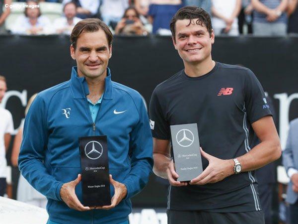 Roger Federer Kantongi Gelar Ke-98 Di Stuttgart