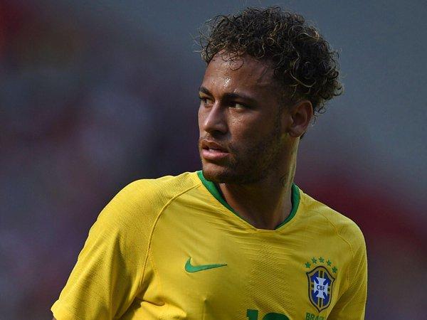 Neymar Dikabarkan Tak Ikut Sesi Latihan Tim Nasional Brasil