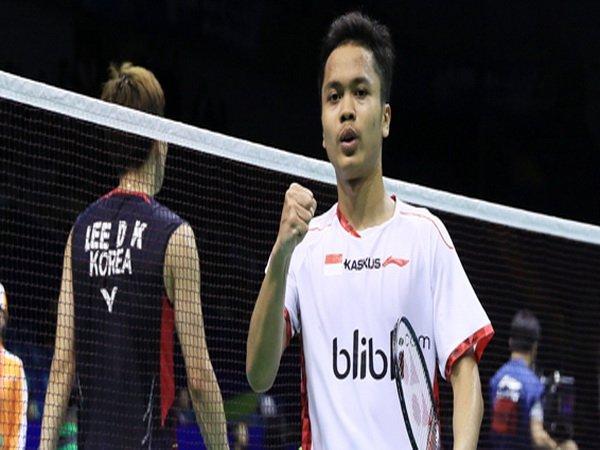 Berita Badminton: Anthony Ginting Menang, Indonesia Unggul 2-1 Atas Korea