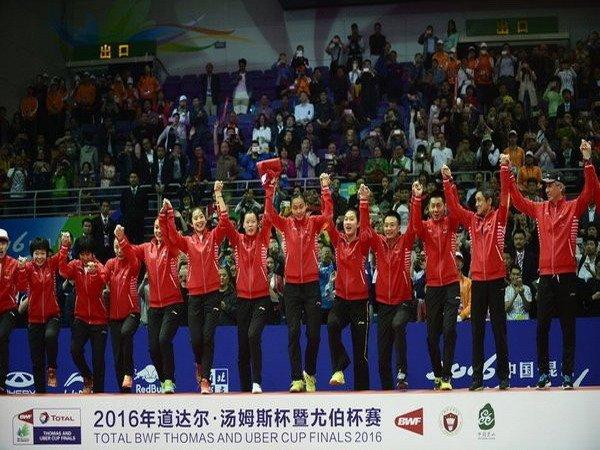 Berita Badminton: China Juara Uber Cup 2016
