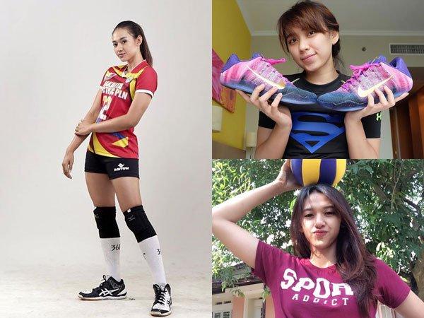 Ragam Berita Olahraga: Deretan Atlet Pemain Voli Cantik di Indonesia