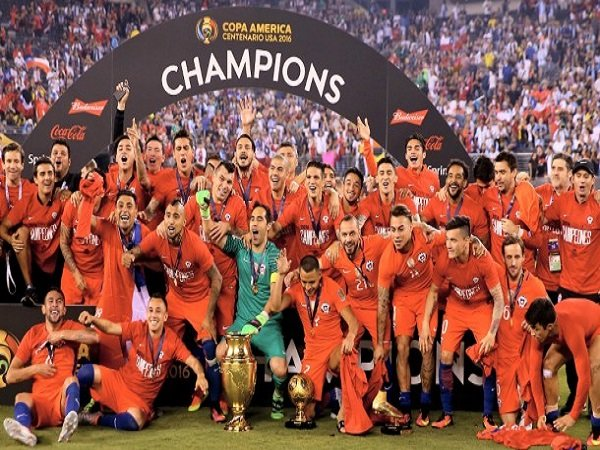 Berita Copa Amerika Centenario: Chile Samai Rekor Uruguay Dan Argentina