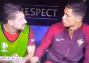Berita Piala Eropa 2016: Cristiano Ronaldo Memukul Teman Setimnya, Dianggap Berlebihan