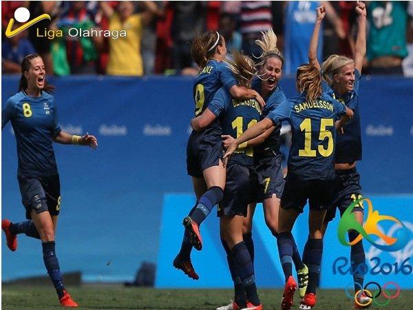 Emas Sepak Bola Wanita Amerika Serikat Diputus Timnas Swedia