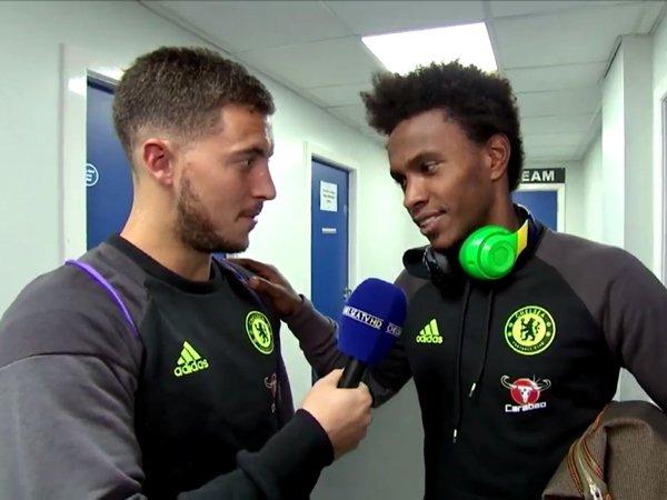 Berita Liga Inggris: Wartawan Dadakan A La Costa, Hazard, dan Willian