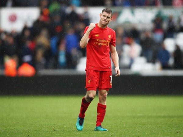 Berita Liga Inggris: Menang atas Swansea, James Milner: Liverpool Tunjukkan Karakternya