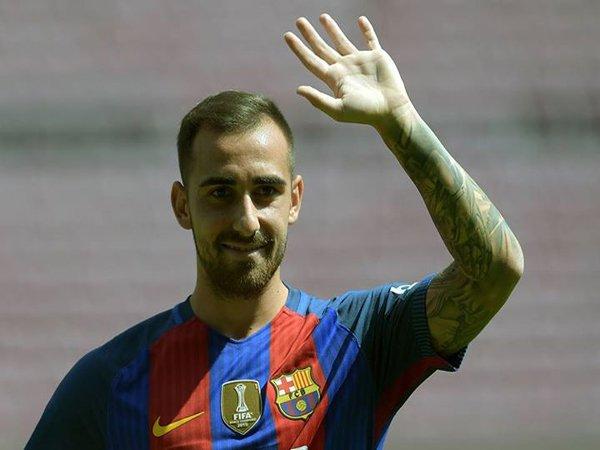 Berita Liga Spanyol: Paco Alcacer Percaya Diri Cetak Banyak Gol bagi Barcelona