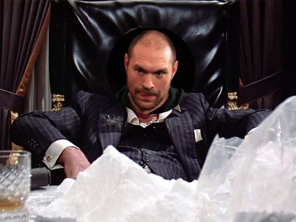 Berita Tinju: Tanggapi Rumor Kokain, Juara Tinju Tyson Fury Pasang Foto Kontroversial di Twitter