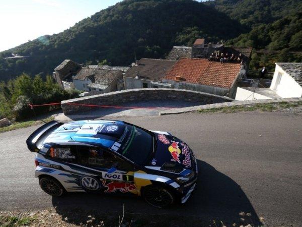 Berita WRC: Sebastien Ogier Raih Juara di Rallt Tour de Corse
