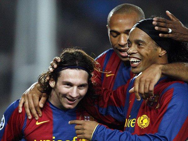Berita Liga Spanyol: Satu Penyesalan Ronaldinho, Cuma Sebentar Bermain Bersama Lionel Messi