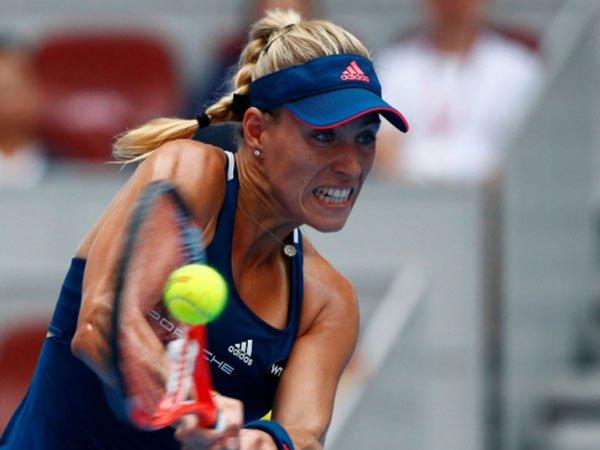 Berita Tenis: Angelique Kerber Rebut Kemenangan Pertama Di China Open