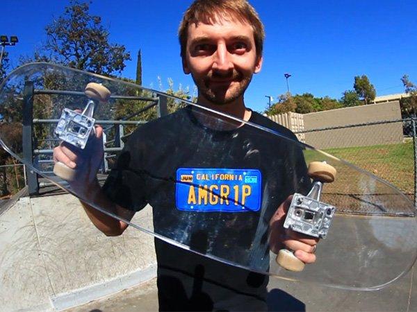 Ragam Skateboard: Seperti Apa Papan Skateboard Anti Peluru yang Terbuat dari Kaca?