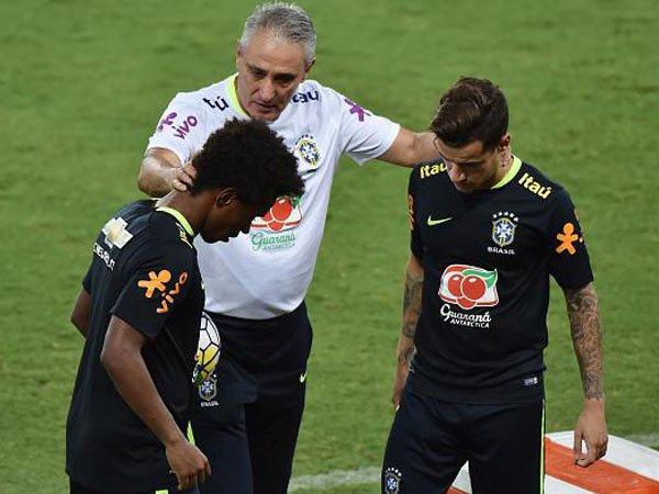 Berita Kualifikasi Piala Dunia 2018: Lebih Memilih Coutinho Daripada Willian, Ini Alasan Pelatih Brasil
