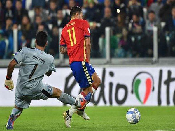 5 Hal Penting dari Laga Italia Melawan Spanyol di Kualifikasi Piala Dunia 2018