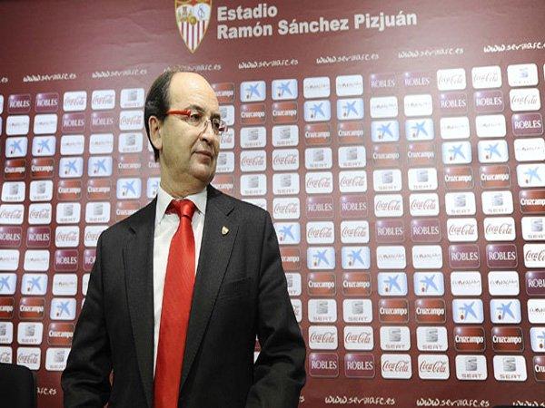 Berita Liga Spanyol: Presiden Sevilla Senang dengan Start Bagus Sevilla