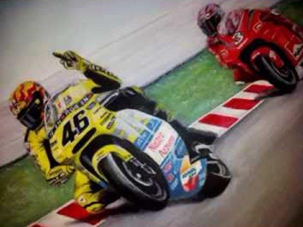 Berita MotoGP: Jelang GP Jepang: Antara Sikut Max Biaggi dan Jari Tengah Valentino Rossi