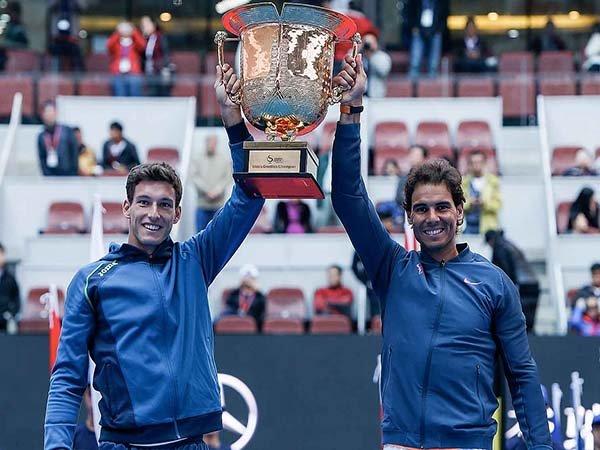 Berita Tenis: Rafael Nadal-Pablo Carreno Busta Sukses Rebut Gelar Nomor Ganda di China Open