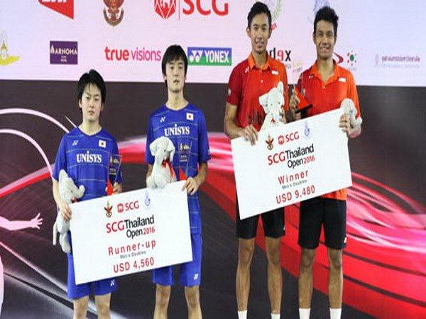 Berita Badminton: Rian-Berry Juara Ganda Putra Thailand Grand Prix Gold 2016