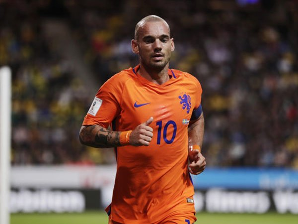 Berita Kualifikasi Piala Dunia: Cedera, Wesley Sneijder Absen Perkuat Belanda Kontra Prancis