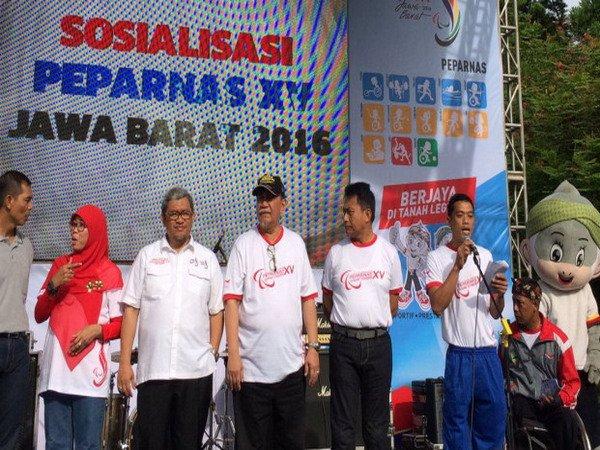 Berita Peparnas XV 2016: Jawa Barat Targetkan Jadi Juara Umum