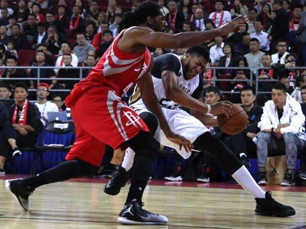 Hasil Pramusim NBA: Anthony Davis Cedera Engkel Saat Lawan Rockets