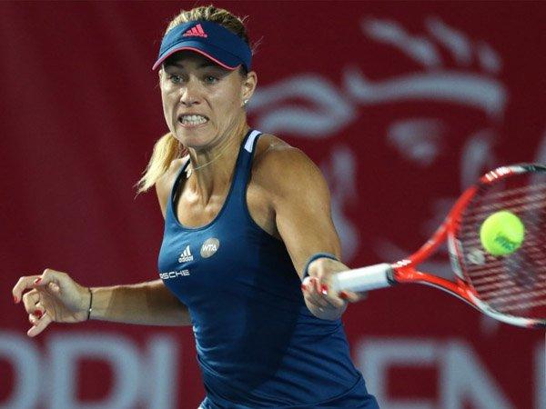 Berita Tenis: Sempat Tertunda Karena Hujan, Angelique Kerber Lolos ke Perempat Final Hong Kong Open
