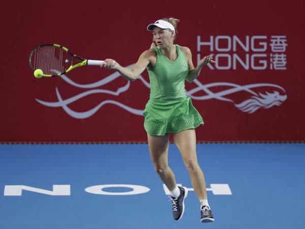 Berita Tenis: Kandaskan Wang Qiang, Caroline Wozniacki Capai Semifinal Hong Kong Open
