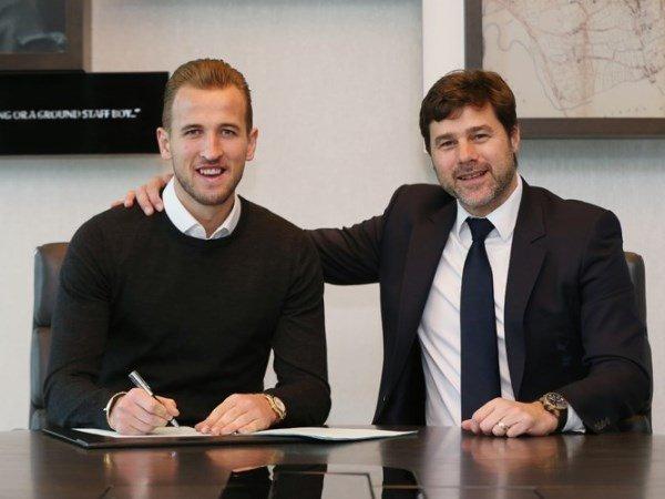 Berita Liga Inggris: Harry Kane Resmi Perpanjangan Kontrak Hingga 2022