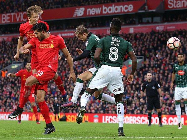 Berita Piala FA: Data Dan Fakta Pasca Laga Liverpool vs Plymouth Argyle (8 Januari 2017)