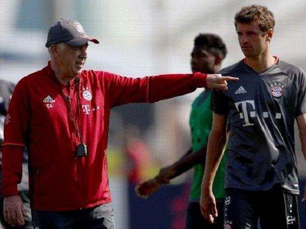 Berita Liga Jerman: Ancelotti Tak Terganggu Performa Muller
