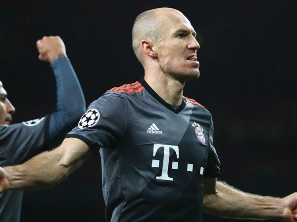 Berita Liga Jerman: Reaksi Marah Arjen Robben Ditanggapi Santai oleh Carlo Ancelotti