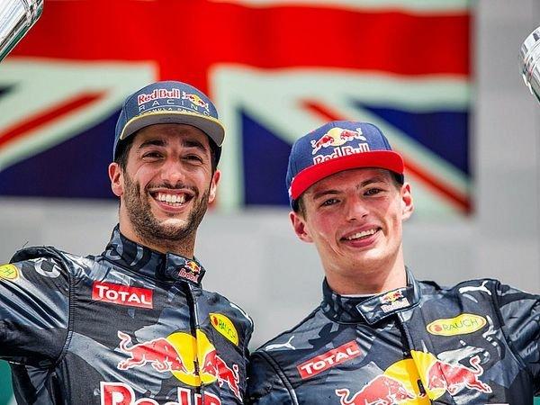 Berita F1: Daniel Ricciardo Akui Tak Terancam oleh Laju Max Verstappen