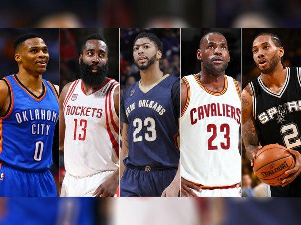 Berita Basket: Inilah 5 Pemain yang Terpilih Masuk All-NBA First Team Musim 2016-17