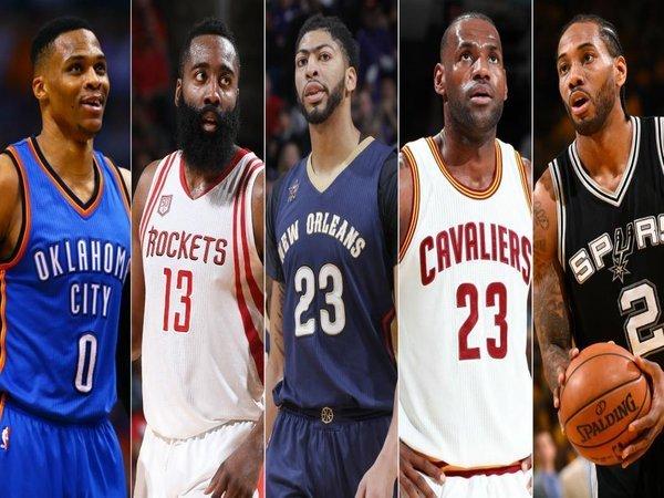 Berita Basket: James Harden dan LeBron James Memimpin All-NBA 2016-17 First Team
