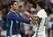 Berita Liga Spanyol: Alvaro Morata Berharap Dapat Tetap Menjadi Rekan Satu Tim James Rodriguez