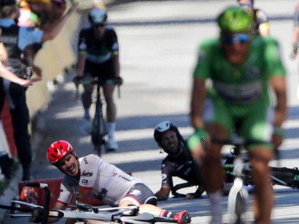 Berita Balap Sepeda: Peter Sagan Kena Diskualifikasi Akibat Ulah Nakal di Tour de France