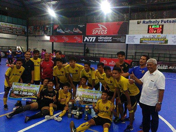 Berita Futsal: Menang Atas IPC Pelindo, Rafhely FC Juarai RSC VII/2017