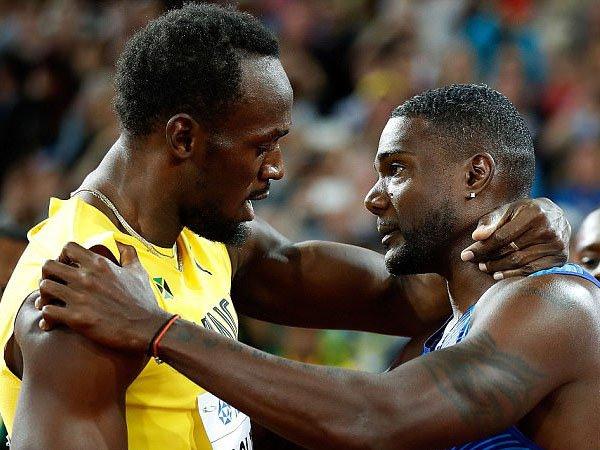 Berita Atletik: Usain Bolt Kalah di Lomba 100 Meter Terakhirnya, Finis Ketiga di Kejuaraan Dunia London