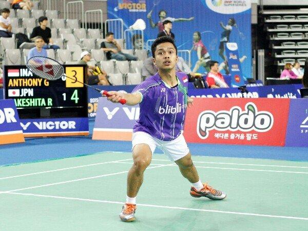 Berita Badminton: Ini Harapan PBSI pada Anthony Ginting di Kejuaraan Dunia 2017