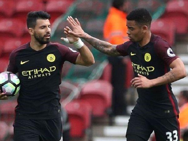 Berita Liga Inggris: Gabriel Jesus Berharap Persaingannya Dengan Aguero Bisa Untungkan Manchester City